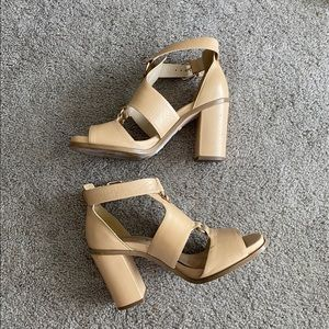 Topshop chunky heel sandals